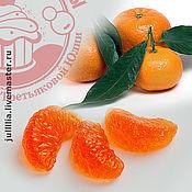 Материалы для творчества ручной работы. Ярмарка Мастеров - ручная работа Форма для мыла «Дольки апельсина». Handmade.