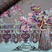 "Материалы для творчества handmade. Livemaster - original item Батист Blumarine ""Северина"" итальянские ткани. Handmade."