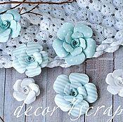 Материалы для творчества ручной работы. Ярмарка Мастеров - ручная работа Набор цветов Freetany Flowers – 15 Baby Boy. Handmade.
