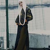 Одежда handmade. Livemaster - original item Denim Maxi Smell Skirt. Handmade.