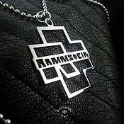 Украшения handmade. Livemaster - original item Rammstain. Handmade.