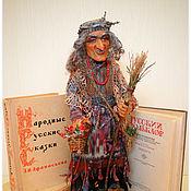 Куклы и игрушки ручной работы. Ярмарка Мастеров - ручная работа авторская кукла БАБА- ЯГА. Handmade.