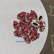 handmade. Livemaster - original item 1pc Czech rhinestone Rose 10h5mm Navette Czech crystals in DACs. Handmade.