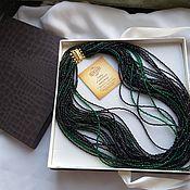 Украшения handmade. Livemaster - original item 105 cm. Spinel, quartz, 925 silver.. Handmade.