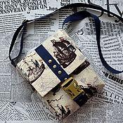 handmade. Livemaster - original item Bag-tablet for the boy