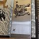 Элементы интерьера ручной работы. панель-макет сейфовой двери. sida1967 (stylecomf1967). Ярмарка Мастеров. Дверная панель, алюминий