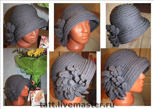 Эта шляпка 56 - 57 размера. Стоимость 1312 руб с учетом стоимости пряжи. \r\nПродана!