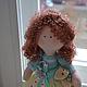 Коллекционные куклы ручной работы. Кукла  малышка. Лариса Макарова. Ярмарка Мастеров. Девочка