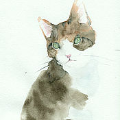 Картины и панно handmade. Livemaster - original item Painting watercolor