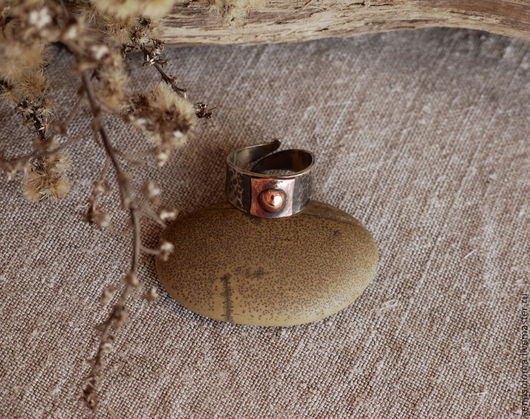 """Кольца ручной работы. Ярмарка Мастеров - ручная работа. Купить Кольцо """"Средневековое"""". Handmade. Средневековье, серебряный"""