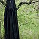 Платья ручной работы. платье длинное 020byshevtsova. Одежда Говорит (ByShevtsova). Ярмарка Мастеров. Креативная одежда, стильное платье, хлопок