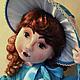 Коллекционные куклы ручной работы. Ярмарка Мастеров - ручная работа. Купить Эмилия. Handmade. Кукла ручной работы, интерьерная игрушка