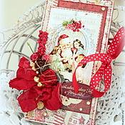 """Подарки к праздникам ручной работы. Ярмарка Мастеров - ручная работа Шоколадница """"Счастливого Нового года и Рождества"""". Handmade."""
