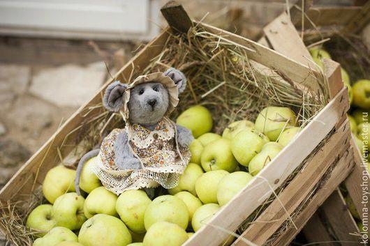 Мишки Тедди ручной работы. Ярмарка Мастеров - ручная работа. Купить Мышка Тедди. Handmade. Чёрно-белый, мышки, мышата