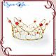 """Свадебные украшения ручной работы. Ярмарка Мастеров - ручная работа. Купить корона """"Царевна"""". Handmade. Лето, невеста, корона для фотосессии"""