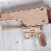 Оружие ручной работы. Ярмарка Мастеров - ручная работа Пистолет из дерева. Handmade.