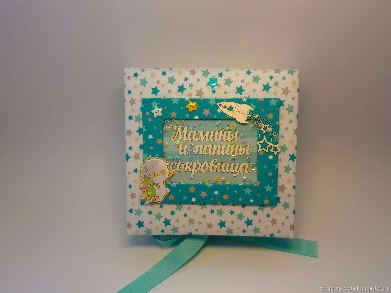 Мамины сокровища для мальчика, Подарки для новорожденных, Пермь,  Фото №1