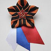 Brooch-clip handmade. Livemaster - original item Brooch of St. George