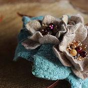 Украшения handmade. Livemaster - original item Headbands: Headband with flowers, a series of