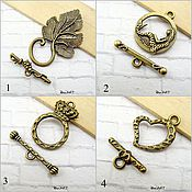 Материалы для творчества handmade. Livemaster - original item Toggle. Lock for jewelry Art.ZU01. Handmade.