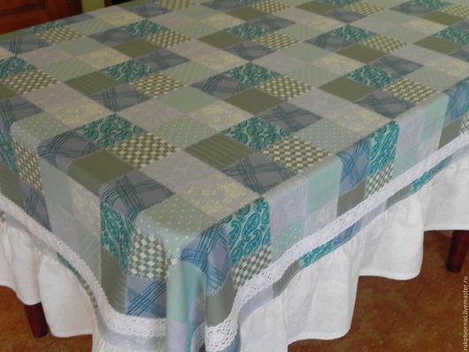 Текстиль, ковры ручной работы. Ярмарка Мастеров - ручная работа. Купить скатерть. Handmade. Комбинированный, подарок