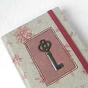 "Канцелярские товары ручной работы. Ярмарка Мастеров - ручная работа Блокнот ""Vintage key"". Handmade."