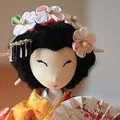 Куклы и пупсы ручной работы. Ярмарка Мастеров - ручная работа Текстильная кукла Японская девушка Харуми. Handmade.