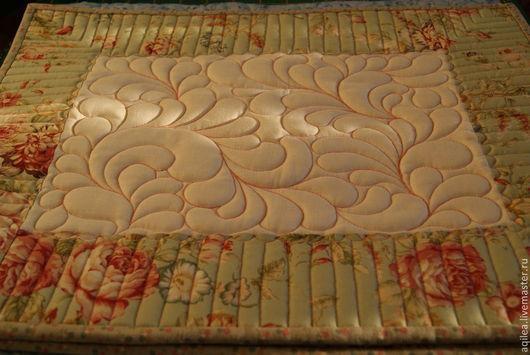 Текстиль, ковры ручной работы. Ярмарка Мастеров - ручная работа. Купить Салфетки. Handmade. Салфетка, розы, хлопок американский