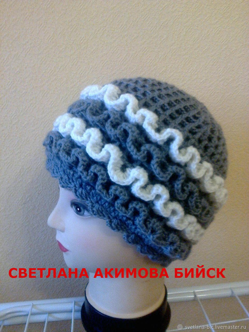 Шапка женская . шапка зимняя, Шапки, Бийск, Фото №1