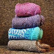 Аксессуары ручной работы. Ярмарка Мастеров - ручная работа уютные носочки для всей семьи. Handmade.