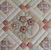 """Пледы ручной работы. Ярмарка Мастеров - ручная работа Лоскутный коврик """"Уютный"""". Handmade."""