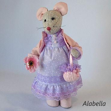 Куклы и игрушки ручной работы. Ярмарка Мастеров - ручная работа Мышка Моника. Handmade.