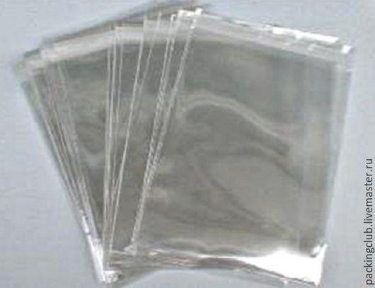 Упаковка ручной работы. Ярмарка Мастеров - ручная работа. Купить Прозрачные пакетики 8х10см. Handmade. Белый, пакет, пакетик