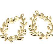 Материалы для творчества handmade. Livemaster - original item Pair suspensions for earrings.. Handmade.