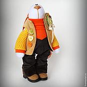 """Куклы и игрушки ручной работы. Ярмарка Мастеров - ручная работа Зайка """"Яркая осень"""". Handmade."""