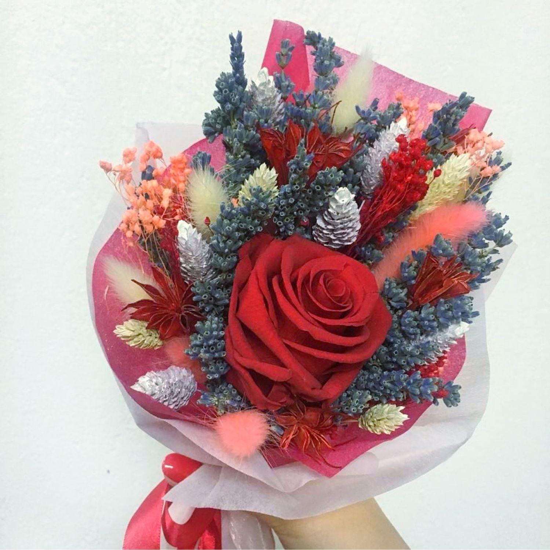 Букет сухоцветов, Букеты, Москва,  Фото №1