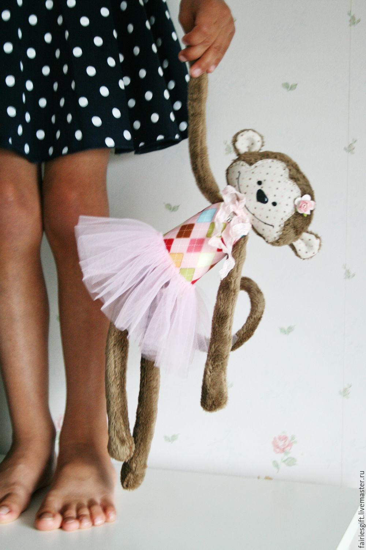 Обезьянка Монита, Мягкие игрушки, Москва,  Фото №1