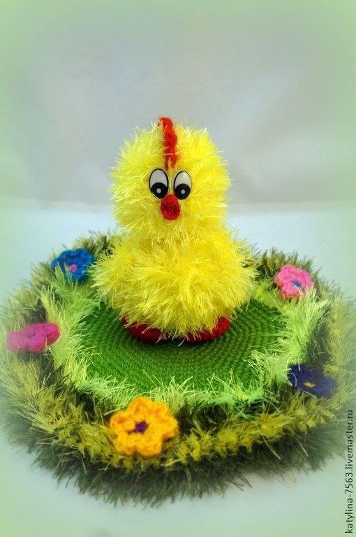 Игрушки животные, ручной работы. Ярмарка Мастеров - ручная работа. Купить Цыплёнок. Handmade. Желтый, цыпа, птичка, игрушка для детей