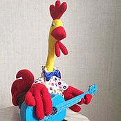 Мягкие игрушки ручной работы. Ярмарка Мастеров - ручная работа Игрушка Петушок. Handmade.