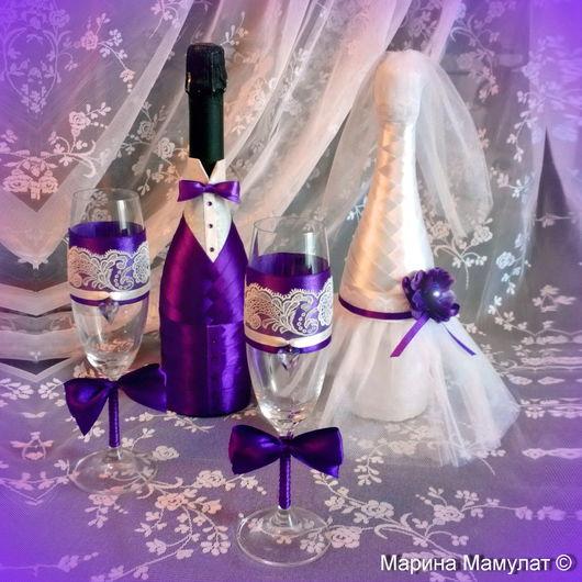"""Свадебные аксессуары ручной работы. Ярмарка Мастеров - ручная работа. Купить """"Свадебные кружева"""" - пример оформления праздника. Handmade."""