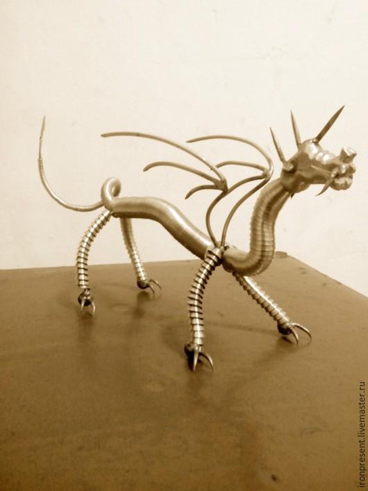 Миниатюрные модели ручной работы. Ярмарка Мастеров - ручная работа. Купить Китайский дракон. Handmade. Китайский дракон, дракон фигурка