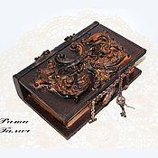 Для дома и интерьера handmade. Livemaster - original item The folio is the Keeper of secrets. Handmade.