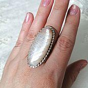 Украшения handmade. Livemaster - original item Belomorite ring. Handmade.