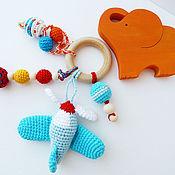 Куклы и игрушки ручной работы. Ярмарка Мастеров - ручная работа Прорезыватель - игрушка для малыша. Handmade.