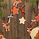 """Новый год 2017 ручной работы. Ярмарка Мастеров - ручная работа. Купить Новогодняя гирлянда """" Путешествие в Скандинавию"""""""". Handmade."""