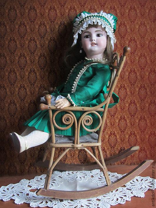 Винтажные предметы интерьера. Ярмарка Мастеров - ручная работа. Купить Антикварное кресло для куклы,мишки.. Handmade. Антиквариат, стульчик