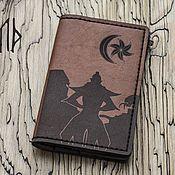 Обложки ручной работы. Ярмарка Мастеров - ручная работа Morrowind малое портмоне под паспорт, карты, документы. Handmade.