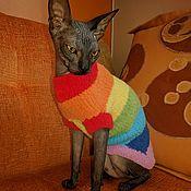 Для домашних животных, ручной работы. Ярмарка Мастеров - ручная работа Плюшевый свитер. Handmade.