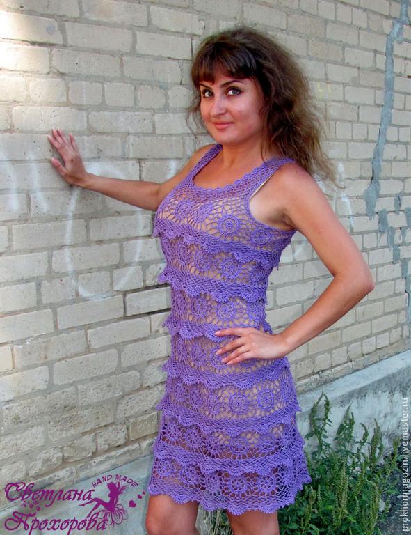 Платье крючком, Платья, Мелитополь, Фото №1