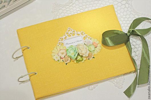 Свадебная книга пожеланий «Лимоны»